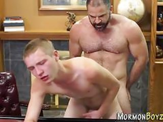 Bishop group sex twink let him feel the peak of pleasure